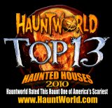 Americas Top 13 Haunted Houses 2010